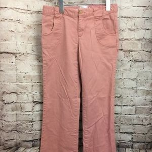 Old Navy Pink low rise jeans 2 stretch wide leg